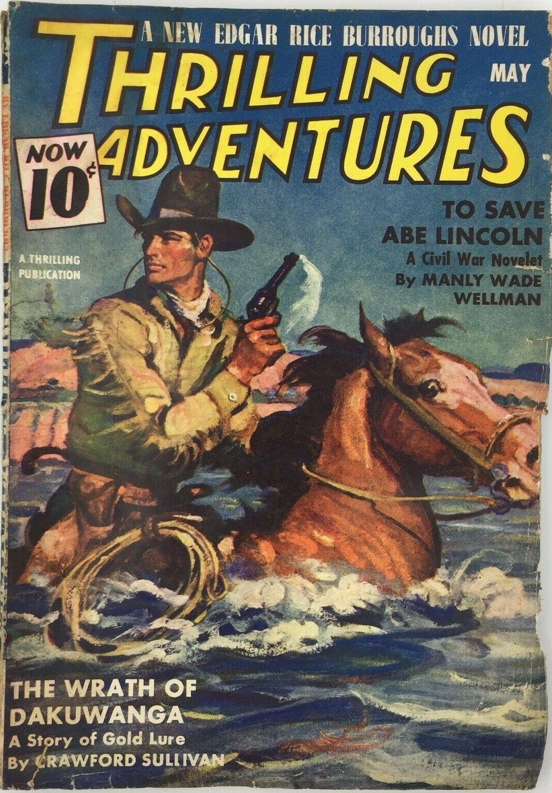 Thrilling Adventures - May 1940